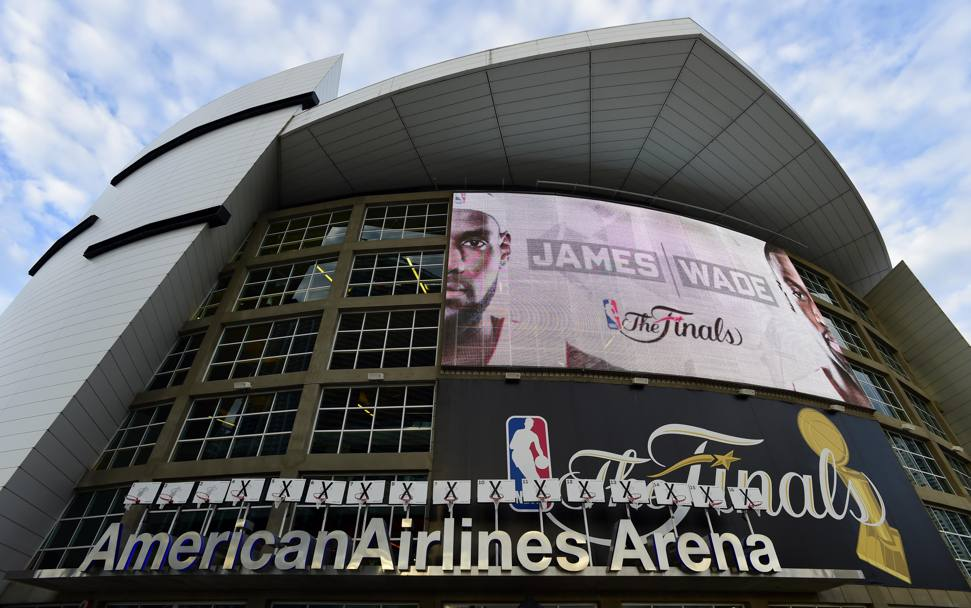 Airlines Arena, la casa dei Miami Heat di Lebron James (Usa Today)