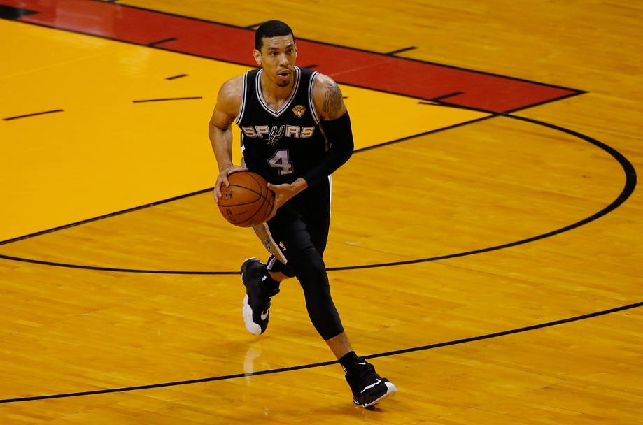 Danny Green #4 autore di 15 punti (Getty Images)