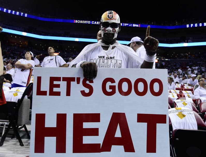 Miami Heat fan (Usa today)