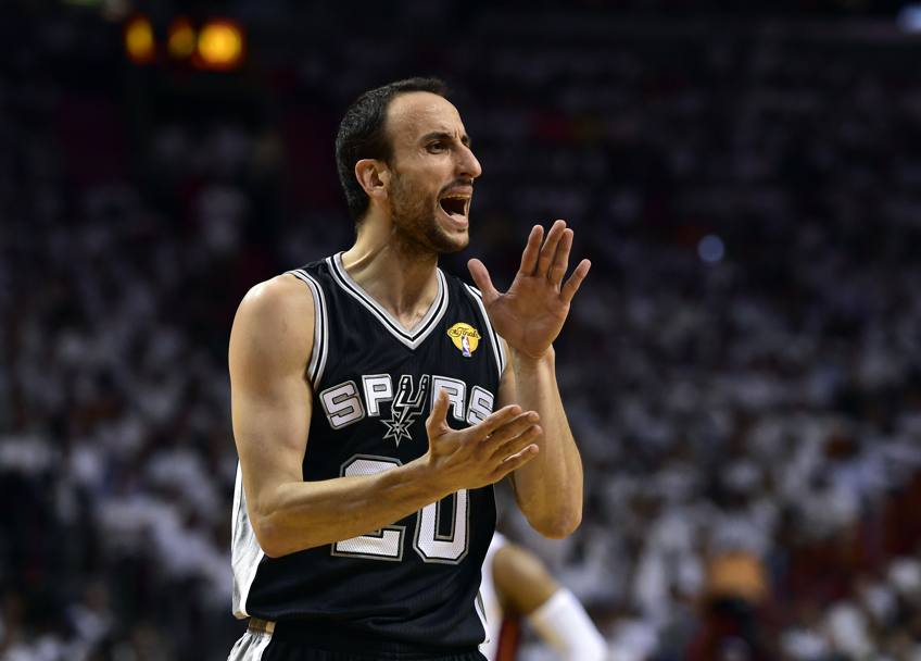 Manu Ginobili #20 (Usa Today)