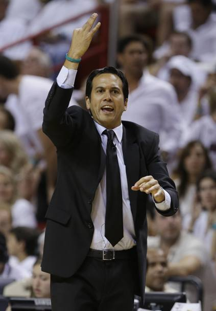Miami Heat head coach Erik Spoelstra (Ap)