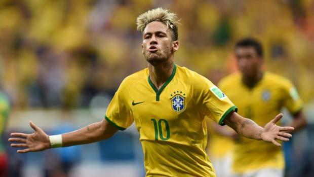 Neymar, 22 anni, 4 reti a Brasile 2014.