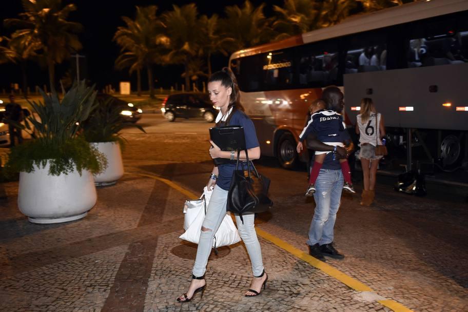 La fidanzata di Loic Remy. AFp