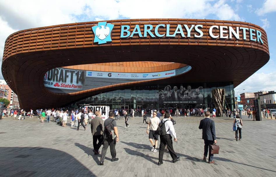 Il Barclays Center ha ospitato il draft. Usa Today Sports
