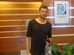 Thiago Motta a Villa Stuart a Roma
