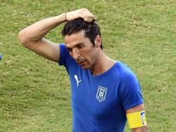 Gigi Buffon, portiere della Juve e della Nazionale. Epa