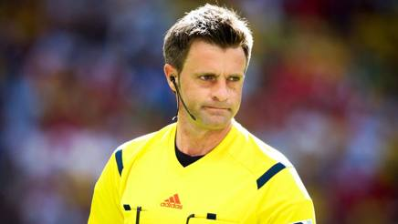 Nicola Rizzoli, 41 anni, arbitro della sezione di Bologna. LaPresse