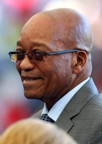 Il presidente sudafricano Jacob Zuma. Getty