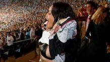 Rihanna, 26 anni, festeggia la vittoria della Germania: prima si scatena al Maracan� e poi al party coi giocatori tedeschi