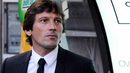 L'ex tecnico di Inter e Milan Leonardo. LaPresse