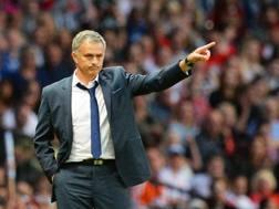 Jos� Mourinho, tecnico del Chelsea. Reuters