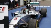 Nico Rosberg, leader del Mondiale 2014. Reuters