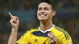 James Rodriguez, 23 anni. Ap