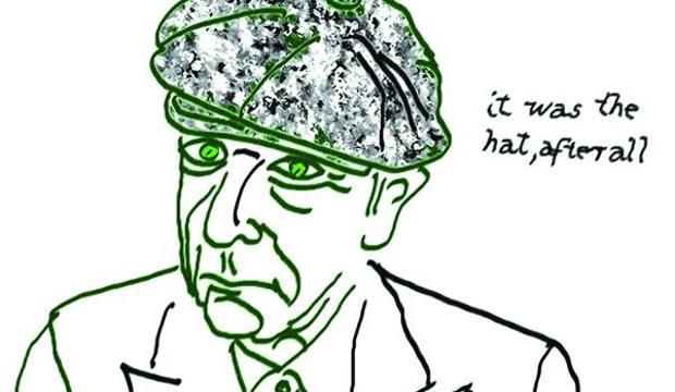 Un autoritratto di Leonard Cohen
