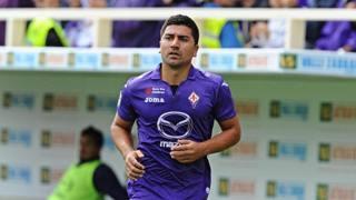 David Pizarro, 34 anni, centrocampista della Fiorentina, Ansa