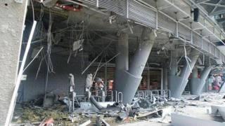 La Donbass Arena di Donetsk