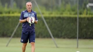 L'allenatore della Lazio Stefano Pioli. LaPresse