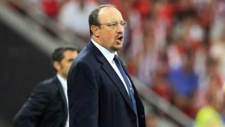 Il tecnico del Napoli, Rafa Benitez. Epa