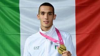 Vincenzo Arecchia, 17 anni, di Marcianise. Foto Twitter