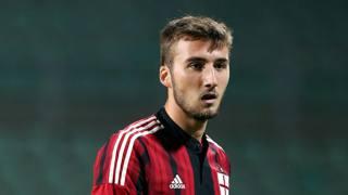 Bryan Cristante, 18 anni, centrocampista del Milan. Forte