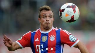Xherdan Shaqiri, attaccante di Svizzera e Bayern. Epa