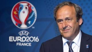 Il presidente dell'Uefa Michel Platini. Ansa