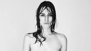 L'attrice Keira Knightley posa in topless per il noto fotografo Patrick Demarchelier