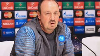 Il tecnico del Napoli, Rafa Benitez. LaPresse