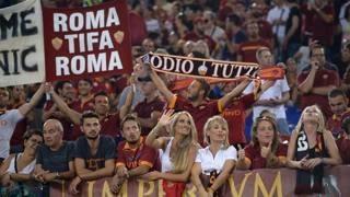 Taddei in Curva per Roma-Fiorentina