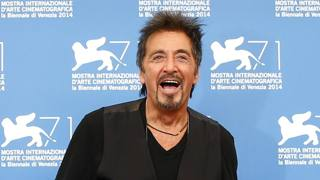 Al Pacino superstar a Venezia