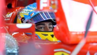 Fernando Alonso, quinto anno alla Ferrari. Lapresse