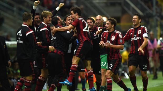 Delirio Inzaghi per il gol di Giacomo Bonaventura. Ansa