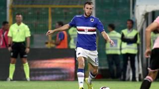 Vasco Regini, difensore della Sampdoria. LaPresse