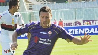 Manuel Pasqual, laterale della Fiorentina. Ansa