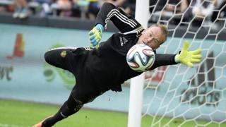 Jean François Gillet, 39 anni, dopo aver riconquistato la nazionale belga, ritornerà in campo anche con la maglia del Torino contro il Bruges. AFP