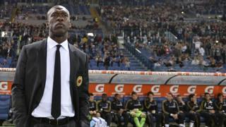 Clarence Seedorf, 38 anni, � stato per 6 mesi l'allenatore del Milan. LaPresse