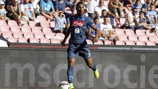 Jonathan De Guzman, centrocampista del Napoli. LaPresse