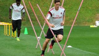 Fernando Torres durante l'allenamento. Twitter