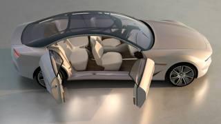 La concept car Cambiano Pininfarina