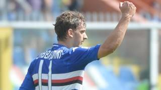 Manolo Gabbiadini, 22 anni, seconda stagione alla Samp. Ansa