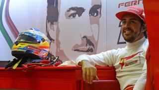 Fernando Alonso, 33 anni, in Ferrari dal 2010. Colombo