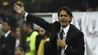 Filippo Inzaghi, 41 anni, al primo anno sulla panchina del Milan (Afp)