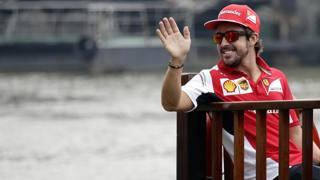 Fernando Alonso, 33 anni, dal 2010 alla Ferrari. Reuters