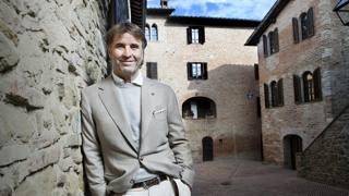 Lo stilista e imprenditore umbro Brunello Cucinelli
