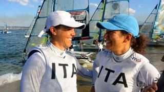 Giulia Conti e Francesca Clapcich.