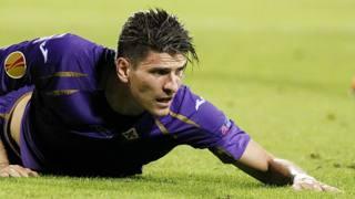 Mario Gomez, 29 anni, seconda stagione a Firenze. LaPresse