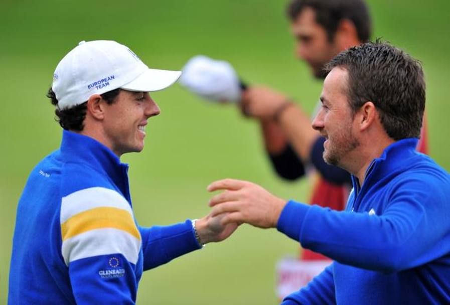 Il duo nordirlandese McDonnell-McIlroy. Afp