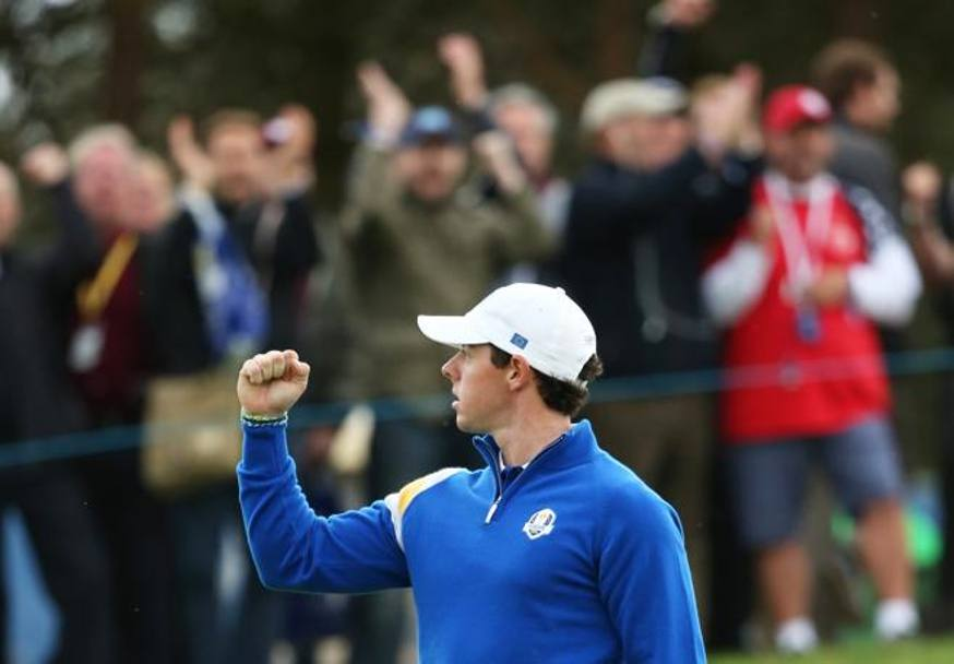 Rory McIlroy. Action Images