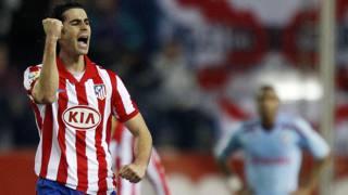 Il portoghese Tiago, 33 anni, � alla sesta stagione all'Atletico Madrid. Reuters
