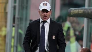 Beppe Iachini, 50 anni, deve ridisegnare l'attacco del suo Palermo per la gara con l'Empoli. LaPresse